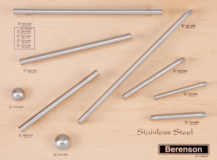 Sainless Steel Decorative Hardware by Berenson