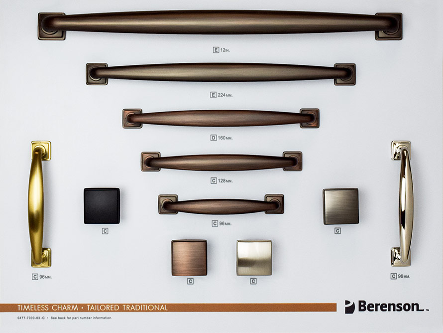 Tailored Traditional Berenson Hardware Board