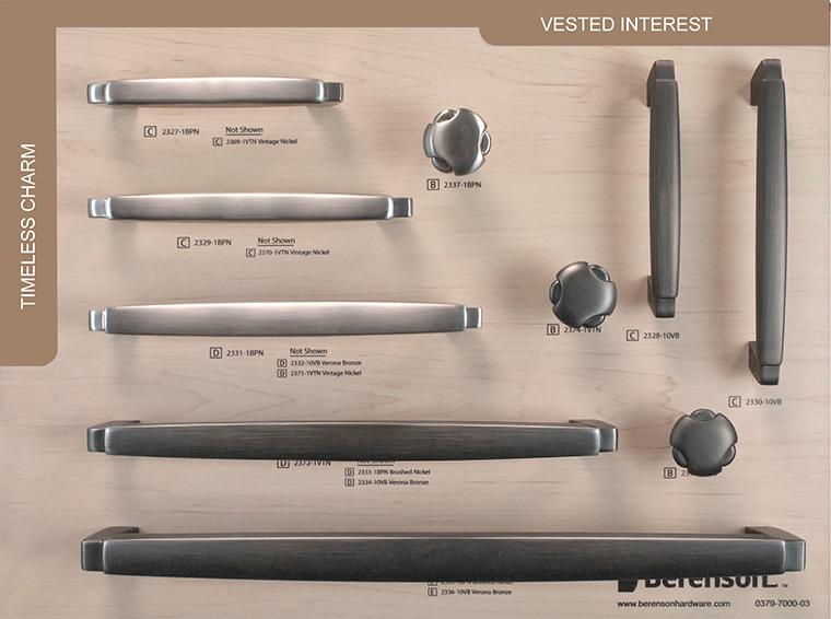 Vested Interest Berenson Hardware Board